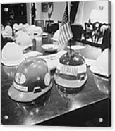 Hard Hats In The Nixon White House Acrylic Print