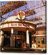 Hard Rock Cafe At Union Station Acrylic Print