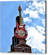 Hard Rock Cafe - Baltimore Acrylic Print