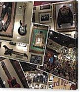 Hard Rock Cafe Hollywood Florida Acrylic Print