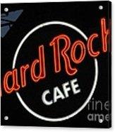 Hard Rock - St. Louis Acrylic Print