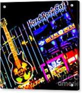 Hard Rock Vegas Acrylic Print