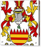 Hare Coat Of Arms Irish Acrylic Print