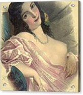 Harem Girl 1850 Acrylic Print