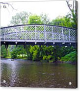 Hares Hill Road Bridge Acrylic Print