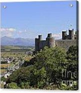 Harlech Castle Snowdonia Acrylic Print