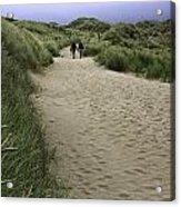 Harlech Dunes Acrylic Print