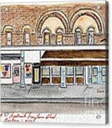 Harlem Underground And Chocolat In Harlem Acrylic Print by AFineLyne
