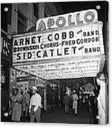 Harlem's Apollo Theater Acrylic Print