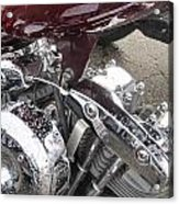 Harley Close-up Possessed Acrylic Print