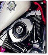 Harley Cop 2 Acrylic Print