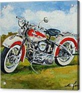 Harley Davidson 1943 Acrylic Print