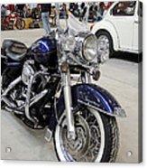 Harley Davidson Detail Acrylic Print