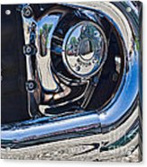 Harley Davidson Engine Acrylic Print