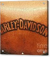Harley Davidson Leather Tool Bag  Acrylic Print