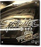Harley Davidson Sportster 883 Acrylic Print