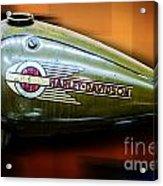 Harley-davidson Tank Logo Acrylic Print