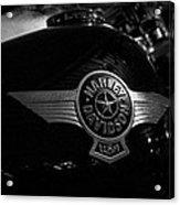 Harley Davidson Usa Acrylic Print