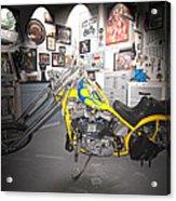 Harley Operating Room Acrylic Print