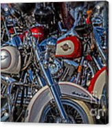 Harley Pair Acrylic Print
