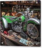 Harley Trike Acrylic Print