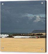 Harlyn Bay In Cornwall Acrylic Print