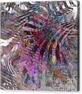 Harmonic Resonance - Square Version Acrylic Print