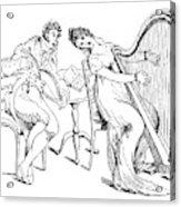 Harmony Before Matrimony, 1886 Acrylic Print