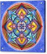 Harmony Mandala Acrylic Print