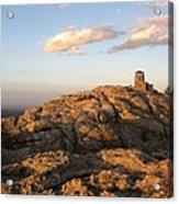 Harney Peak At Dusk Acrylic Print