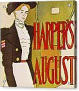 Harpers August 1897 Acrylic Print
