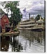 Harpers Mill Acrylic Print by Wayne Gill