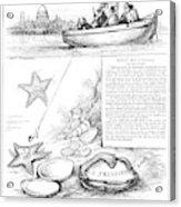 Harper's Weekly, 1881 Acrylic Print