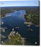 Harraseeket River And South Freeport Acrylic Print