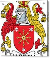 Harrell Coat Of Arms Irish Acrylic Print
