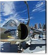 Harrier At Interpid Museum Acrylic Print
