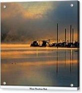 Harris Riverfront Park Acrylic Print