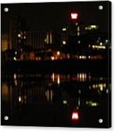 Harrisburg Night Lights Acrylic Print