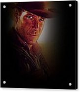 Harrison Ford As Indiana Jones Acrylic Print