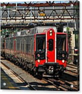 Harrison Station Express Acrylic Print