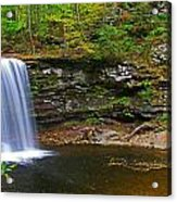 Harrison Wright Falls And Pool Acrylic Print