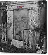 Harry T Hays Major General Lafayette Cemetery 1 Dsc05175 Acrylic Print