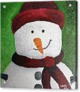 Harry The Snowman Acrylic Print