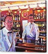Harry's American Bar Acrylic Print