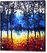 Hart Of The Magic Forest Acrylic Print