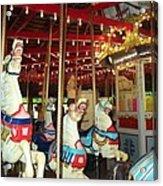 Hartford Carousel Acrylic Print