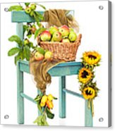 Harvest Fayre Acrylic Print by Amanda Elwell