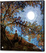 Harvest Moon Meditation Acrylic Print