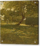 Harvest Scene Acrylic Print