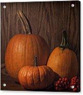 Harvest Still Life Acrylic Print
